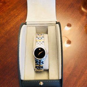 Authentic MOVADO Watch. Swiss Craftmanship.